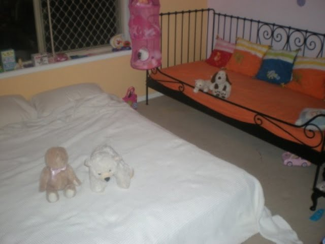 Bed in toyroom