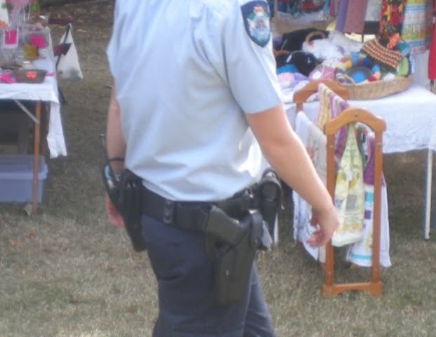 Australian Police and Guns