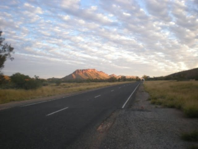 Central Australia - another road