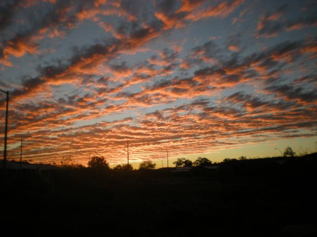 Red Central Australian Sky