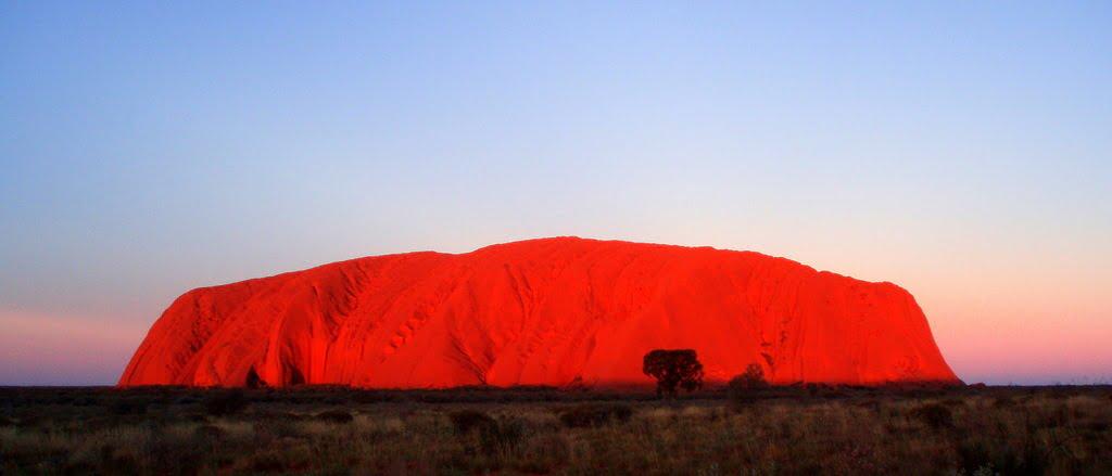 Uluru red