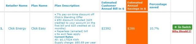 goswitch savings