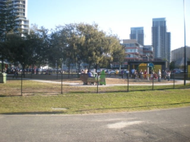 The park near Broadbeach