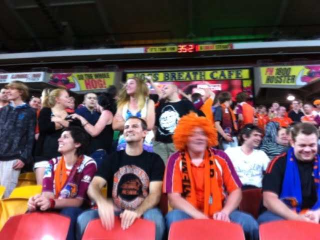 The Den at Brisbane Roar