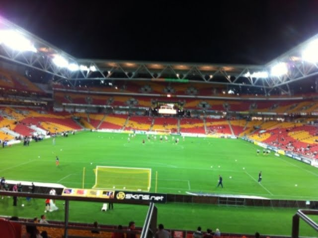 The Suncorp Stadium