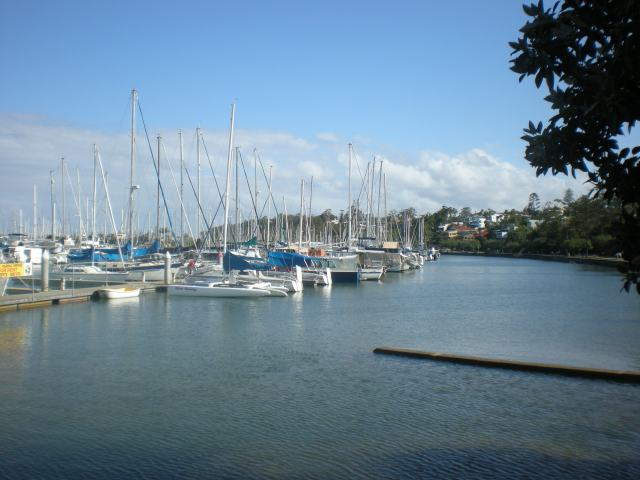 Manly Marina, Brisbane