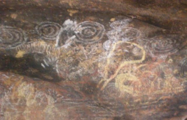 Aboriginal abstract symbols
