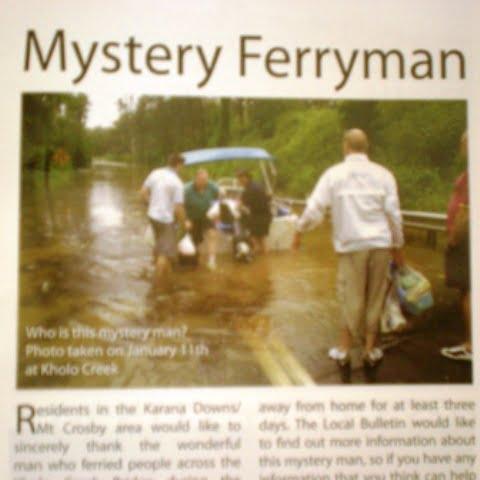 Mystery ferryman