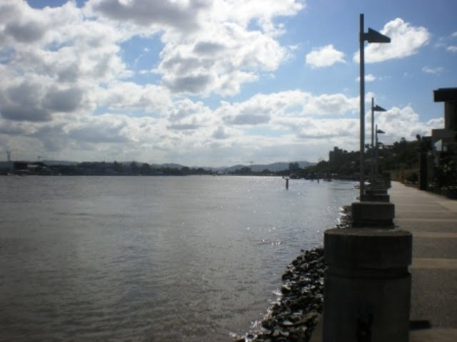 Brisbane River by Hamilton