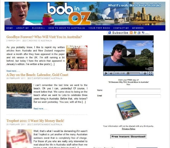 BobinOz Blog