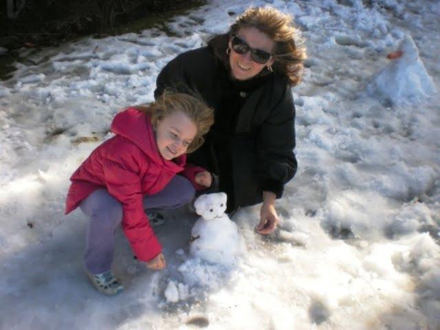 Elizabeth's Snowman