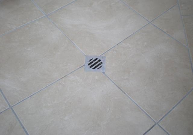Another drain in bathroom