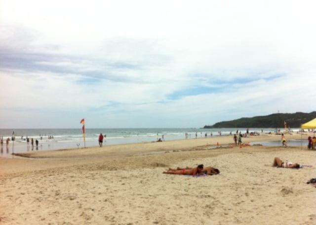 Beach at Byron