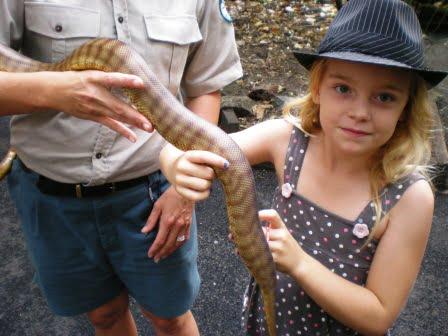 Elizabeth & Snake