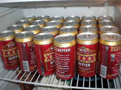XXXX in Fridge
