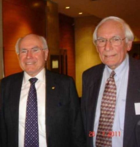 Jim Tilley and John Howard