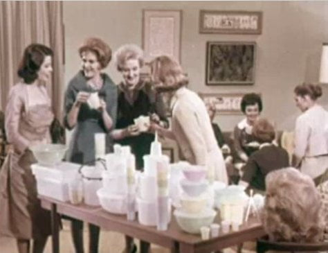 Tupperware party 1960's