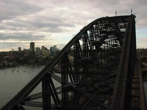 bridge like a coathanger
