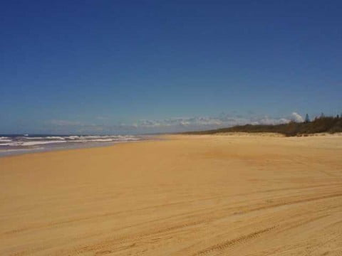 Fraser Island Beach No Swimmers