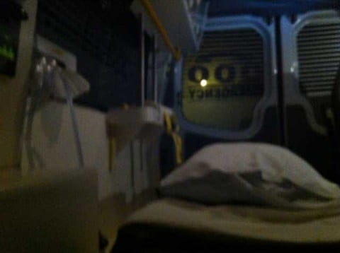 back of the ambo