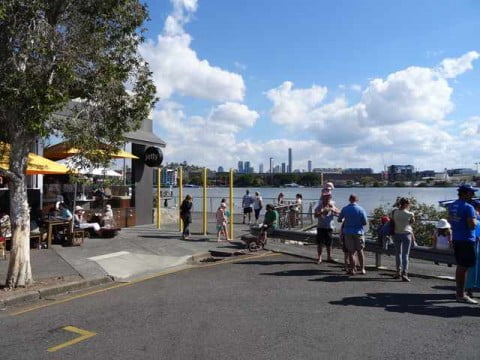 Bulimba Not So Busy by the River