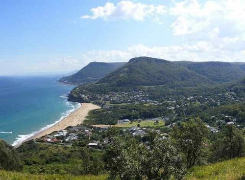The view from Bald Hill