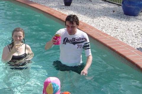 swimming 2005