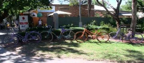 Bikes in Adelaide Hills