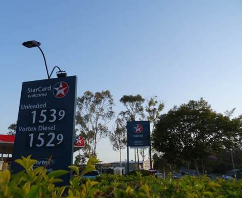 petrol prices 2014
