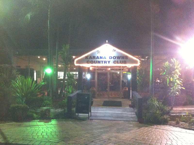 Karana Downs Golf Club Restaurant