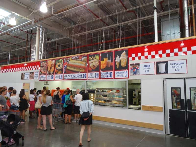 Costco Food Court Sydney Menu
