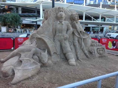 Sand Sculpture  (3)
