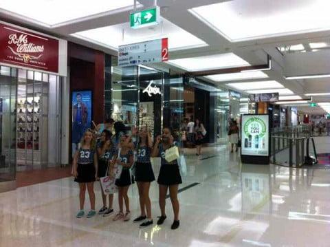 girlie shopping