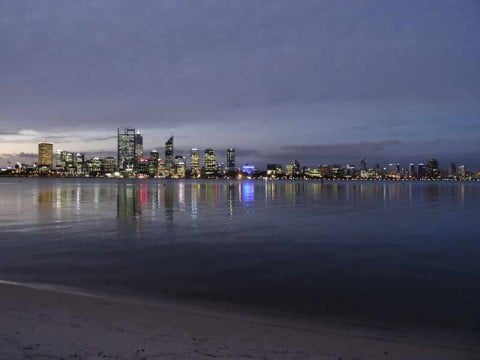 Nighttime Perth