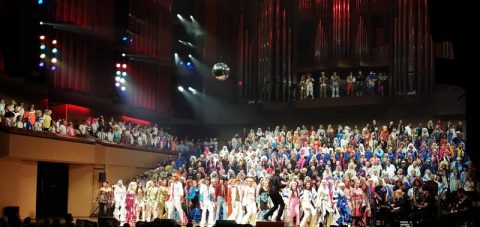 Choir at QPAC do ABBA