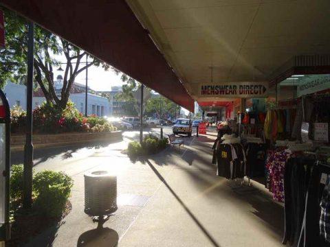 Rockhampton town centre