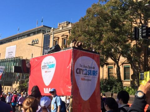 The start city2surf