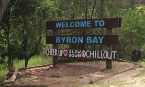 Byron Bay sign