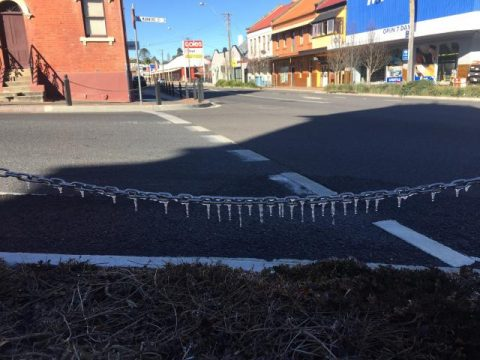 Frost in Tenterfield