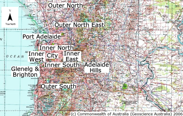 Where to live in Adelaide South Australia Australia