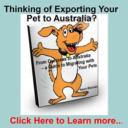 Thinking of Exporting Your Pet to Australia?