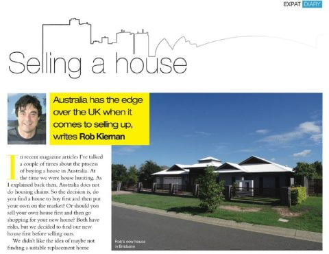 selling a house in Australia