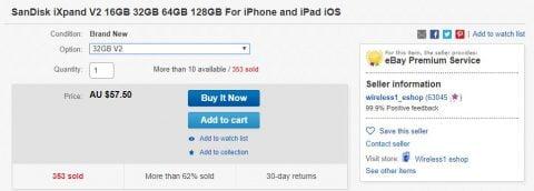 iXpand eBay