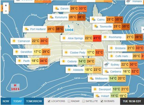 Australian weather